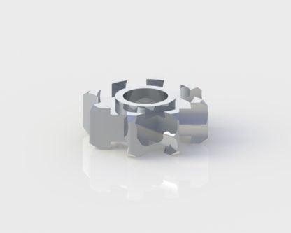 Lares 557CX Impeller dental handpiece part for high speed handpiece repair from Premium Handpiece Parts