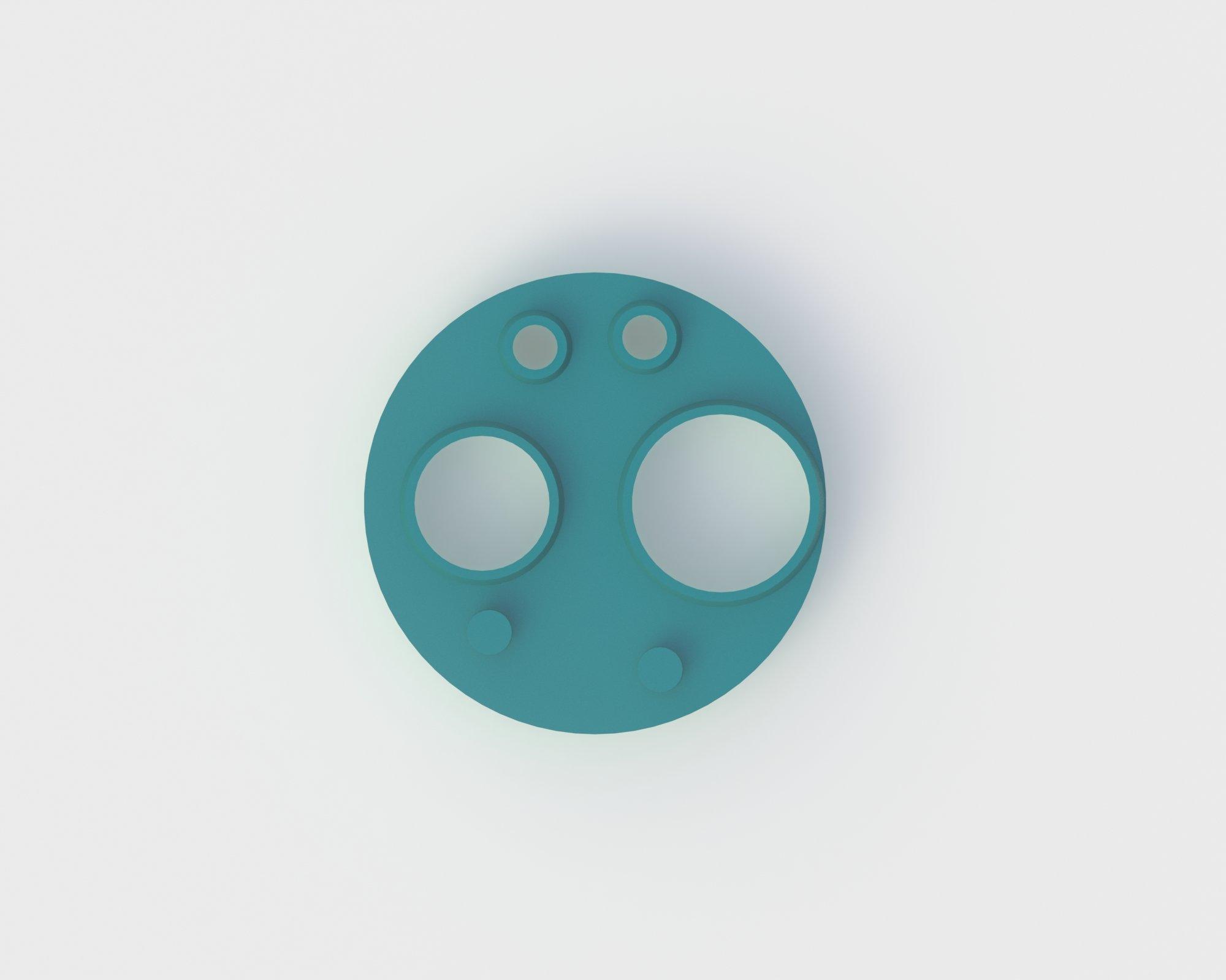 4-Hole Gasket