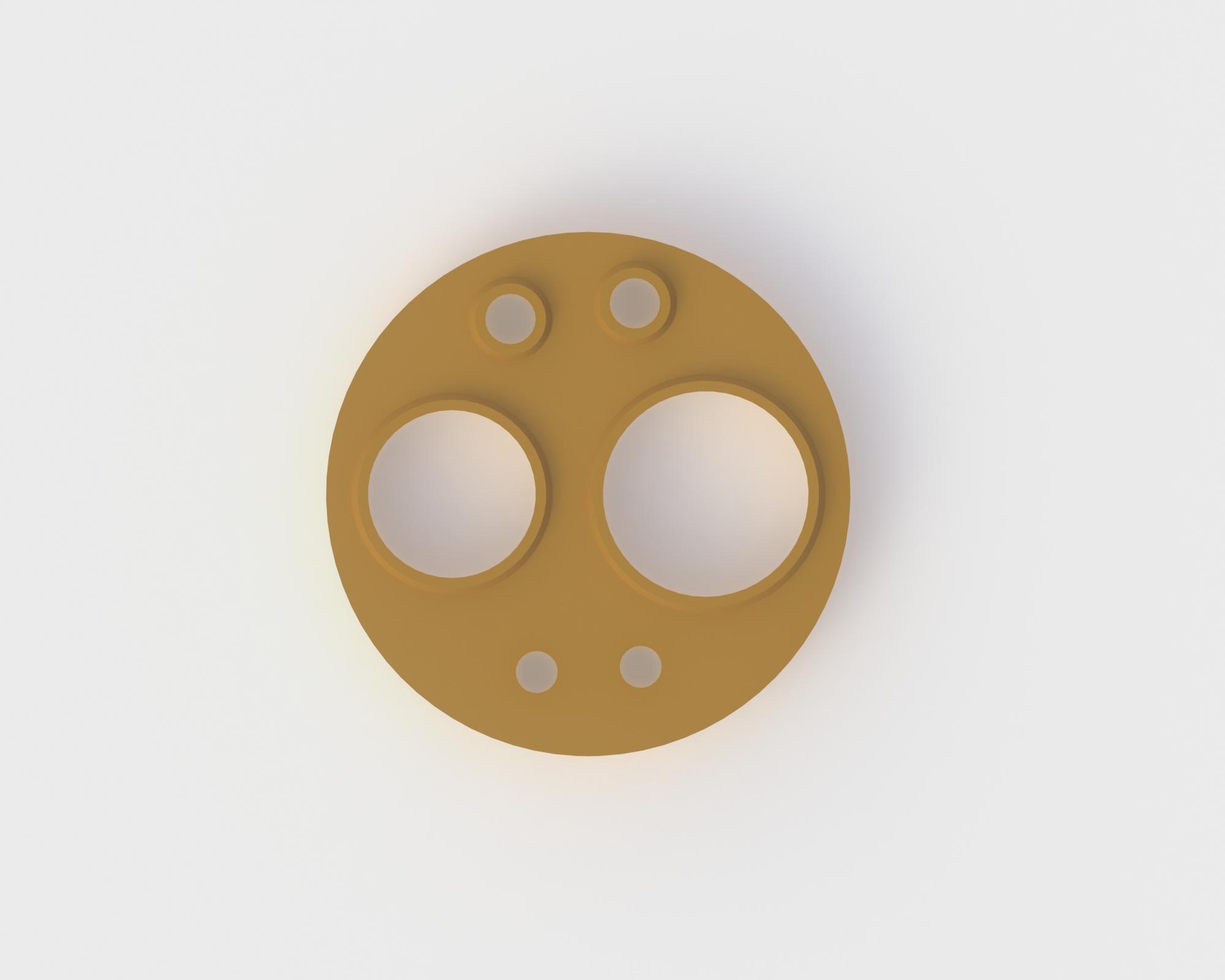 6-Hole Gasket
