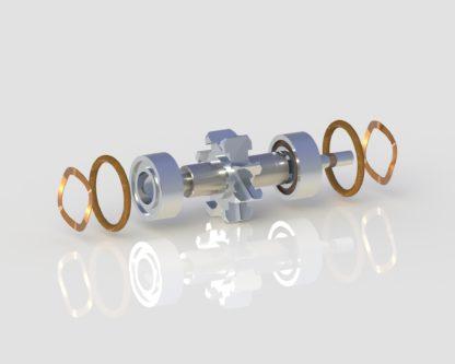 Lares 557CX Turbine dental handpiece part for high speed handpiece repair from Premium Handpiece Parts