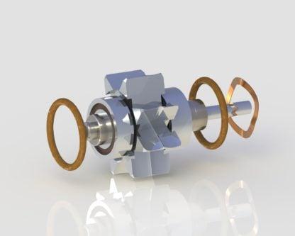 Lares 757 Turbine dental handpiece part for high speed handpiece repair from Premium Handpiece Parts