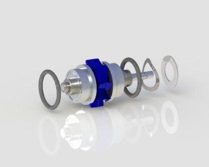 Kinetic Instruments Viper 360 Standard Turbine dental handpiece part for high speed handpiece repair from Premium Handpiece Parts