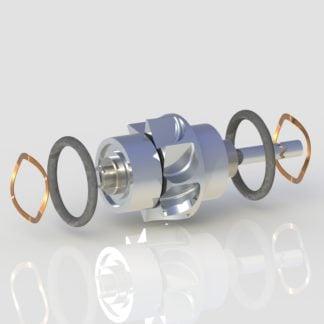 W&H TA-97 LED TA-96 LW 5-Port Water Spray Turbine dental handpiece part for high speed handpiece repair from Premium Handpiece Parts