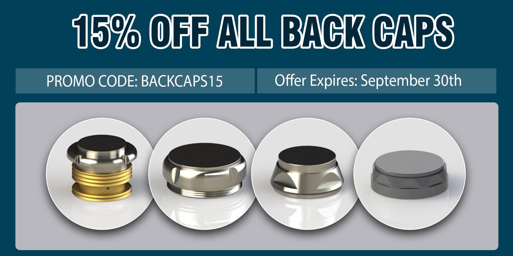 Back cap promo promotion banner from Premium Handpiece Parts